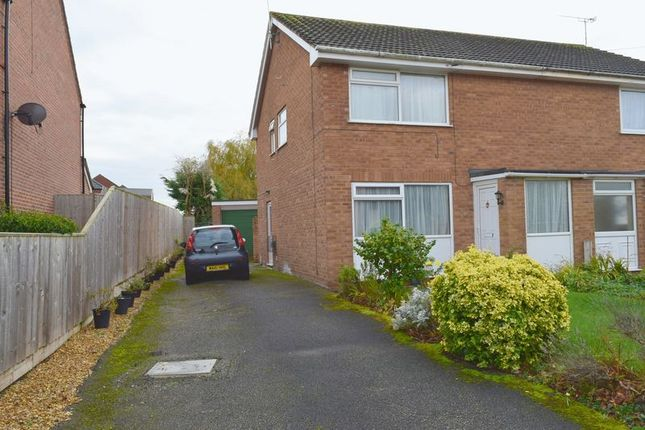 Thumbnail Semi-detached house for sale in Rakeway, Saughall, Chester