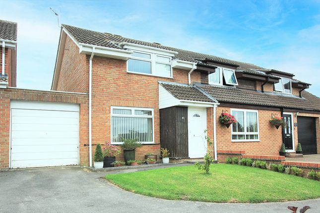 Thumbnail Semi-detached house for sale in The Dormers, Highworth