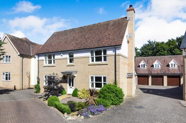 Thumbnail Detached house for sale in Chancellor Park, Chelmsford, Essex