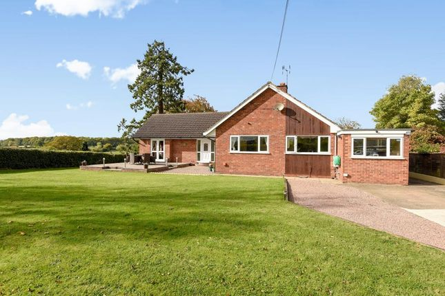 Thumbnail Detached bungalow for sale in Kimbolton, Herefordshire