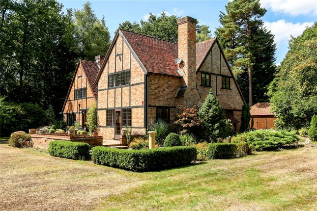 Thumbnail Detached house for sale in Earleydene, Ascot, Berkshire