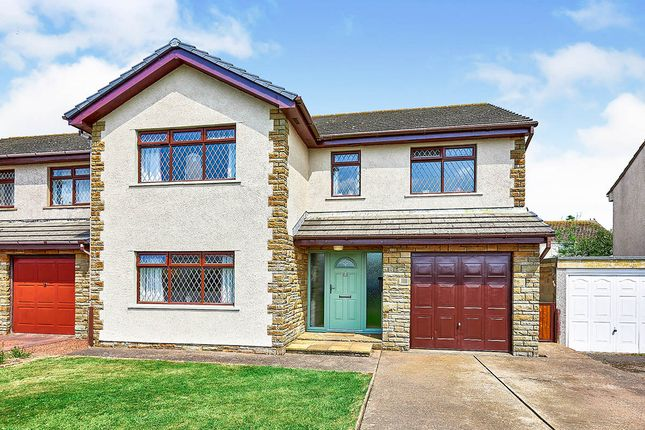 Thumbnail Detached house for sale in Moricambe Park, Skinburness, Wigton, Cumbria