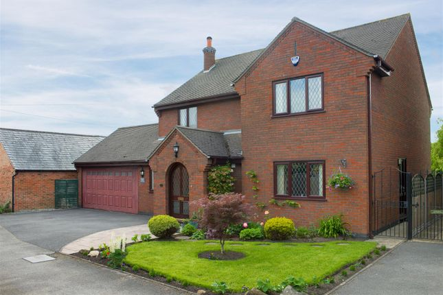 Thumbnail Detached house for sale in Ticknall Road, Hartshorne, Swadlincote