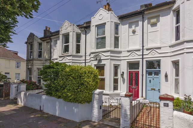 Thumbnail 3 bed terraced house to rent in Sussex Road, Broadwater, Worthing