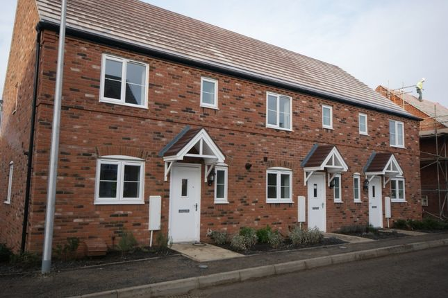 Thumbnail End terrace house to rent in Otters Holt, Bishopton, Stratford-Upon-Avon