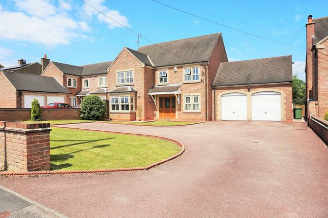 Thumbnail Detached house for sale in Birches Lane, South Wingfield