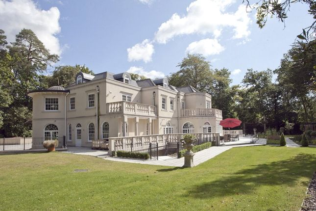 Thumbnail Detached house for sale in Christchurch Road, Wentworth, Virginia Water, Surrey