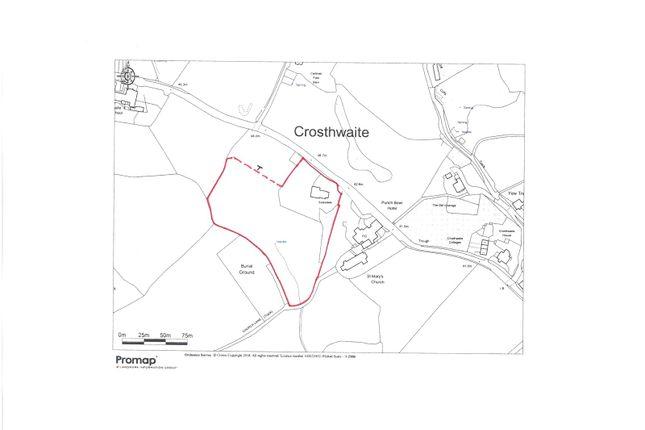 Site Plan of Scarsdale, Crosthwaite, Kendal, Cumbria LA8