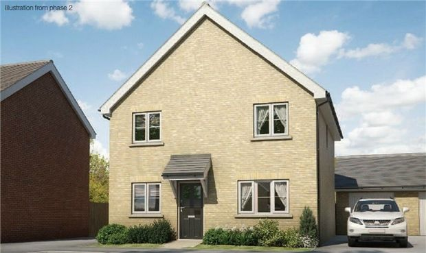 Thumbnail Detached house for sale in The Wagtail At Chiswell Place, New Cardington, Bedfordshire