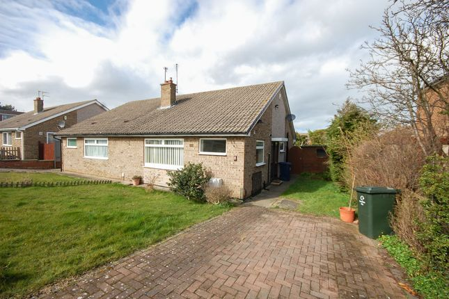 Thumbnail Semi-detached bungalow for sale in The Links, Saltburn-By-The-Sea