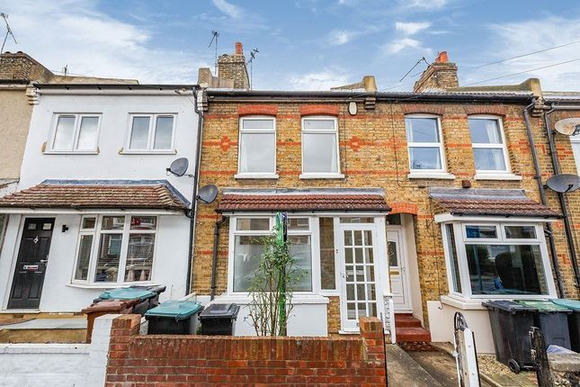 Thumbnail Terraced house to rent in Cecil Road, Gravesend