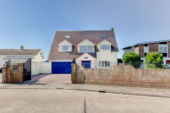 Thumbnail Detached house for sale in Old Fort Road, Shoreham-By-Sea