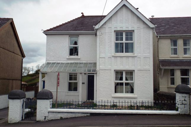 Detached house for sale in Carmel, Llanelli