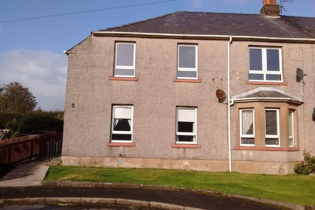 Thumbnail Flat to rent in Randolph Crescent, Garlieston, Newton Stewart