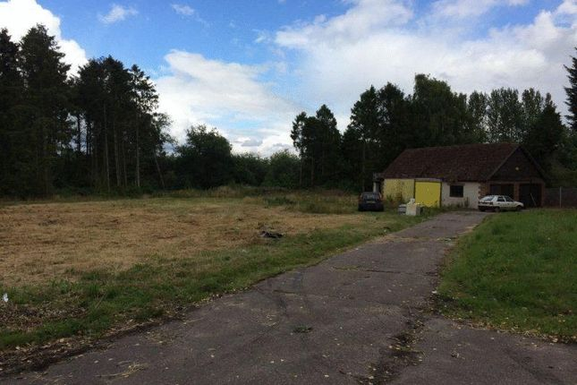 Thumbnail Land for sale in Crownthorpe Road, Wicklewood, Wymondham