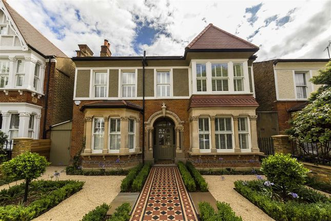 Thumbnail Detached house for sale in North Avenue, Near St Stephen's Church, Ealing, London
