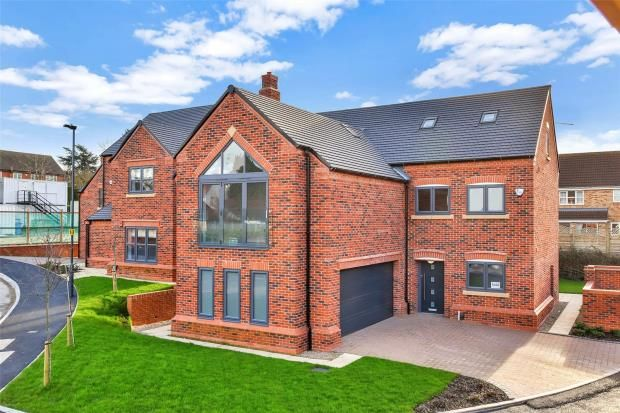 Thumbnail Detached house for sale in Chellaston, Derby, Derbyshire