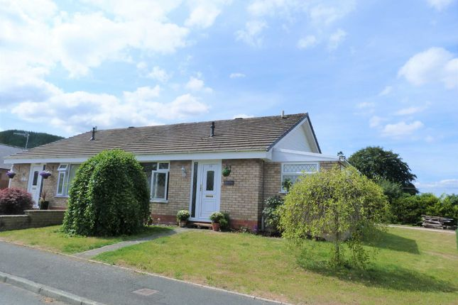 Thumbnail Bungalow for sale in Gerddi Cledan, Carno, Caersws, Powys