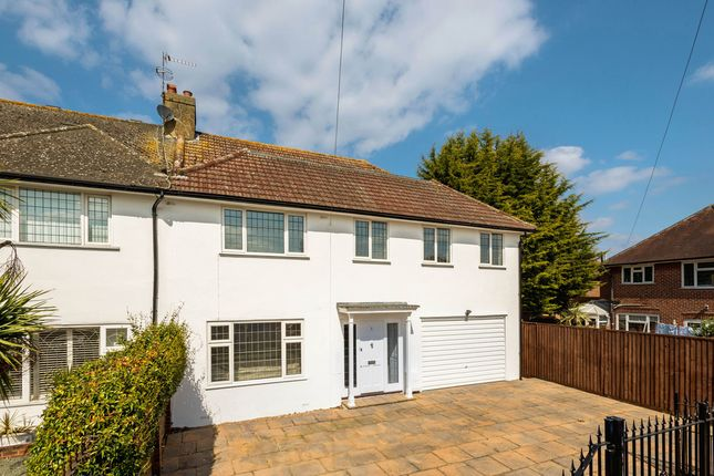 Thumbnail Semi-detached house for sale in Grasmere Avenue, London