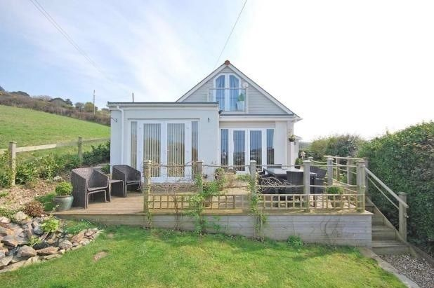 Thumbnail Detached house for sale in Reen Hill, Perranporth