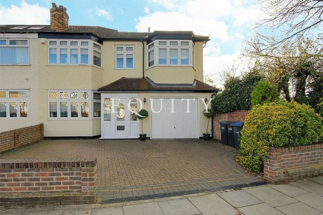 Thumbnail End terrace house for sale in Aldersbrook Avenue, Enfield