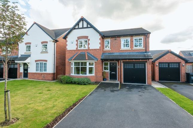 Thumbnail Detached house for sale in Eastmead, Shevington, Wigan