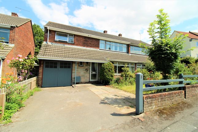 Thumbnail Semi-detached house for sale in Cherry Road, Nailsea, Bristol