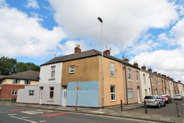 Thumbnail Terraced house to rent in Renwick Road, Blyth, Northumberland