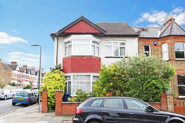 Thumbnail End terrace house for sale in Regina Road, London