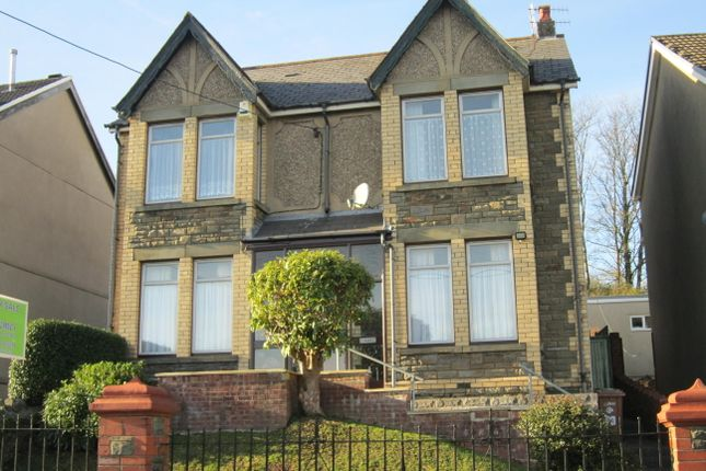 Thumbnail Detached house for sale in Hillside Park, Bargoed
