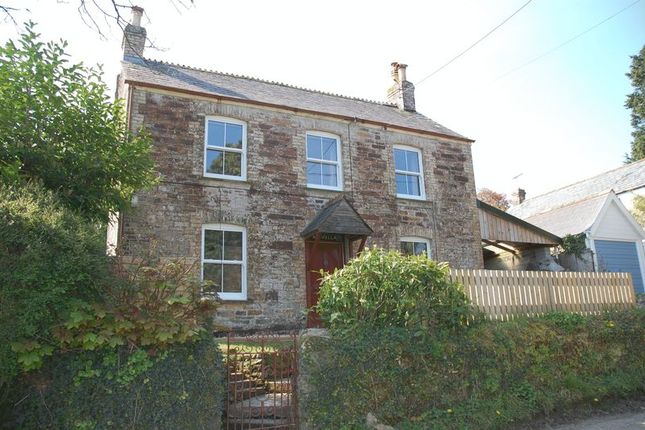 Thumbnail Cottage to rent in Gluvian, St. Columb