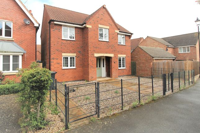 Thumbnail Detached house for sale in Lime Tree Avenue, Uppingham, Oakham