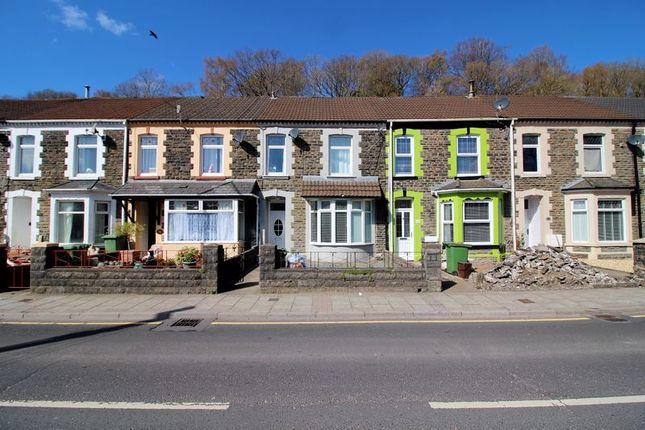 4 bed terraced house for sale in Berw Road, Pontypridd CF37