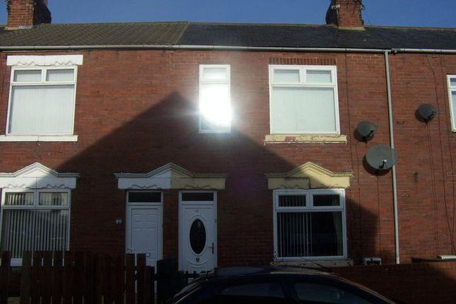 Thumbnail Terraced house to rent in Castle Terrace, Ashington