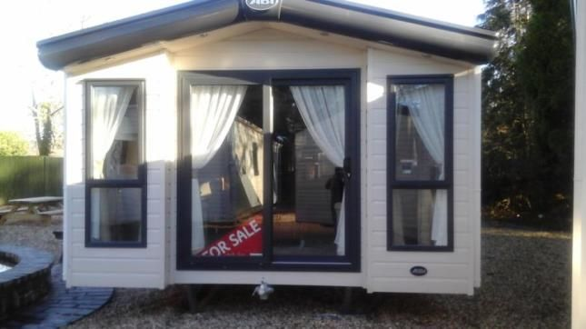 Mobile/park home for sale in Eryl Hall, Lower Denbigh Road, St. Asaph
