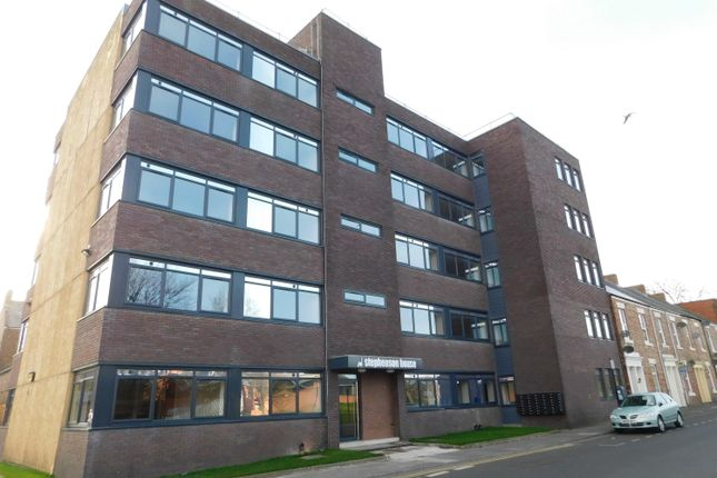 Thumbnail Flat to rent in Stephenson Street, North Shields