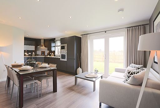 "Thumbnail Detached house for sale in ""Sandholme"" at Bye Pass Road, Davenham, Northwich"