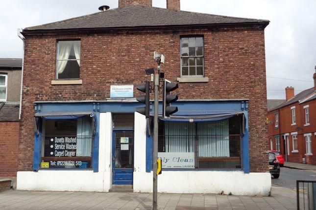 Thumbnail Retail premises for sale in 26, Wigton Road, Carlisle