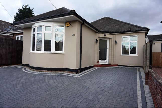 Thumbnail Detached bungalow to rent in Gloucester Road, Peterborough