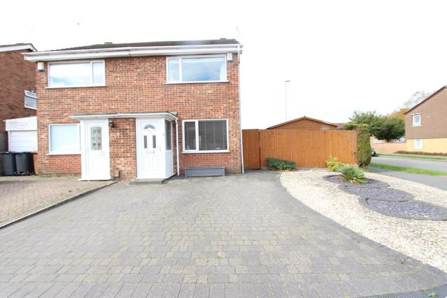 Thumbnail Semi-detached house to rent in Lilac Close, Burbage, Hinckley