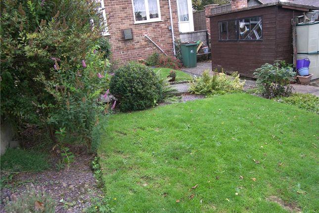 Garden of Coronation Avenue, Belper DE56