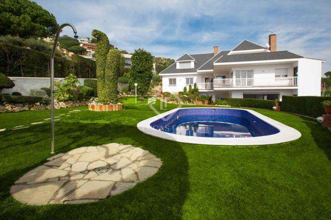 Thumbnail Villa for sale in Spain, Barcelona North Coast (Maresme), Tiana / Mas Ram, Mrs2263