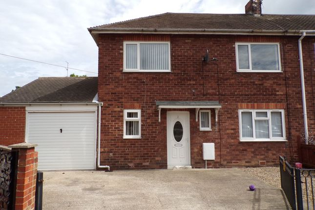 Thumbnail Semi-detached house to rent in Legg Avenue, Bedlington