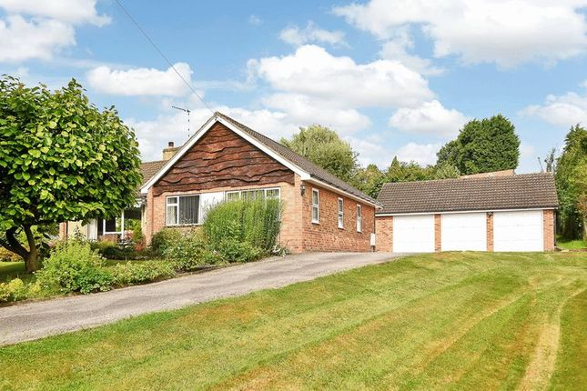 Thumbnail Detached bungalow for sale in Bleasby Road, Thurgarton, Nottingham