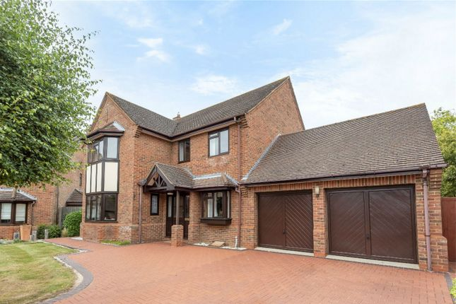 Thumbnail Detached house for sale in The Paddock, Biddenham, Bedford