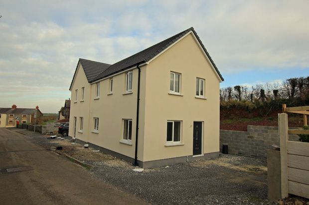 Thumbnail Semi-detached house for sale in Heol Llansaint, Broadway, Ferryside, Carmarthenshire