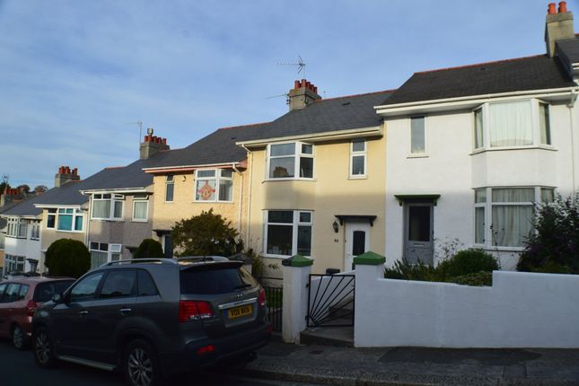 Thumbnail Terraced house to rent in Ganges Road, Stoke, Plymouth