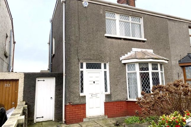 Thumbnail Semi-detached house for sale in Margam Road, Port Talbot, Neath Port Talbot.