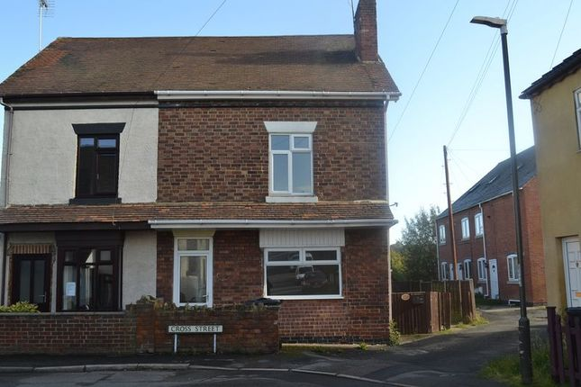 Thumbnail Semi-detached house to rent in Cross Street, Castle Gresley, Swadlincote