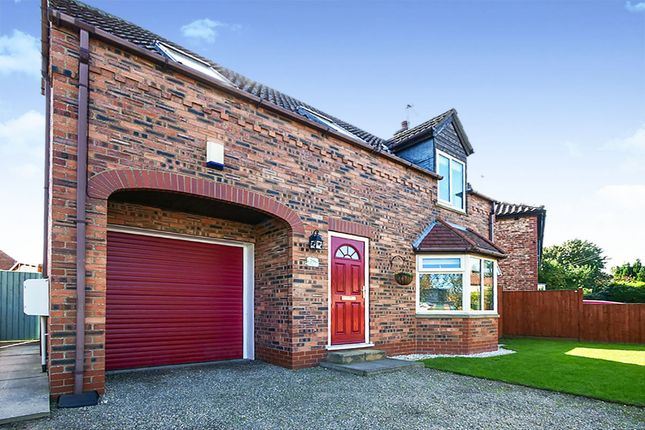Thumbnail Detached house for sale in Storking Lane, Wilberfoss, York, East Riding Of Yorkshi